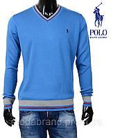 Свитер мужской Ralph Lauren-40 синий