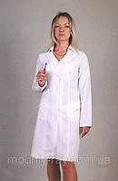 Медицинский халат белый классический