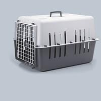 Переноска Savic 3267 000Т Pet Carrier 4 (Пэт Кэрриер 4) д/собак и котов пластик 66 см/47 см/43 см темно-серый
