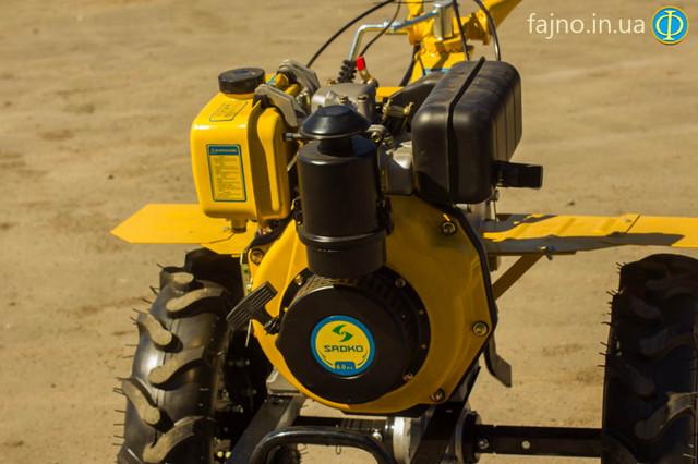 Дизельный Мотоблок Sadko MD-1160 фото 2
