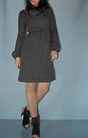 Платье вязаное London Times угольно-серое (S/M/L)