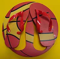 Тапки вьетнамки Баскетбольный Мяч, размер 39