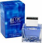 Мужская туалетная вода Antonio Banderas Seduction Blue for men (аромат фруктовый, древесный) ААТ