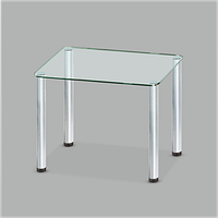 Стеклянный обеденный стол  Mono P mini C