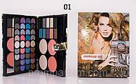 Тени для век maXmaR makeup set 50 Colors (46 оттенков теней + 2- румян + 2-пудры) SH-211 ME 830 /86-3