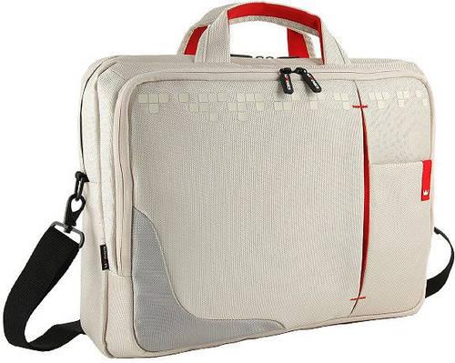 """Функциональная сумка для ноутбука до 17"""" Crown Genuine CCG4417W бежевая"""