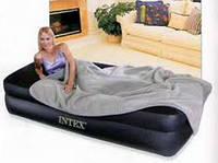 Матрас Intex Comfort Pillow Rest Tween со встроенным насосом 191х99х47 см, черный