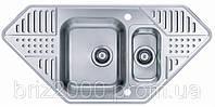 Мойка кухонная Alveus Pixel 60 L SAT (1035882)