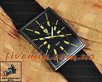 Мужские наручные часы Ferrari Quartz Ruber Black Yellow кварцевые модный стиль