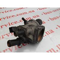 Корпус термостата для Fiat Doblo 1.9 D. Фиат Добло 1.9 дизель.