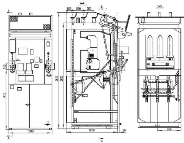По желанию заказчика камеры КСО могут поставляться со статическими реле или с устройствами защиты автоматики и...