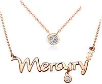 """Подвеска """"Меркурий"""" - планета знаков зодиака Дева и Близнецы"""