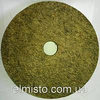 Круг войлочный c отверстием 150 х 22 х 32 грубошерстный мягкий полировальный на станок точильный, шлифовальный