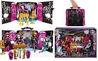 Набор Зал для вечеринки с мп3 и кукла монстер хай Спектра. Party Lounge and Spectra Vondergeist Doll Playset