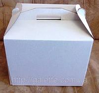 """Коробка самосборная для торта """"большая 40*40*30 (код 01646)"""