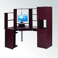 Угловой компьютерный стол СУ-12 с пеналом