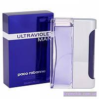 Мужская туалетная вода Paco Rabanne Ultraviolet Man EDT 100 ml (лиц.)