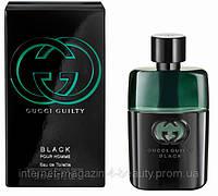 Мужская туалетная вода Gucci Guilty Black Pour Homme edt 90 ml (лиц.)