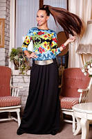 Теплое макси платье в пол Орнэлла D от медини
