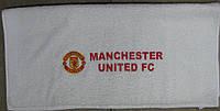 Полотенце лицевое с символикой FC Manchester