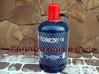 Балон  для газа  5кг  (Польша), 12 литров объем