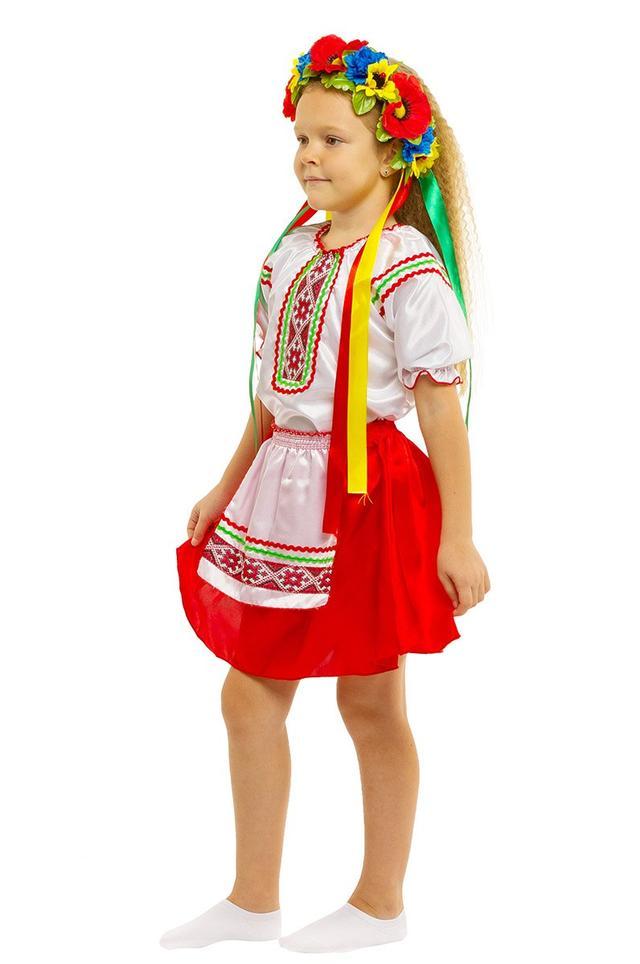 Костюм украинки для девочки 79