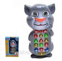 Детский телефон Кот Том умный телефон