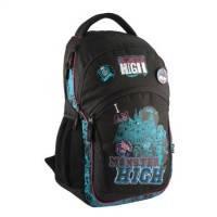 Рюкзак школьный с ортопедической спинкой Monster High MH14-815-1K