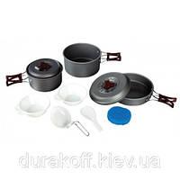 Набор посуды из анодированного алюминия Tramp TRC-024