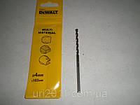 Сверло DeWALT универсальное 4х103мм (Кирпич/дерево/металл)