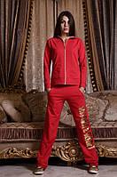 Модный женский костюм Victoria's Secret LOVE / двунитка / Украина (4 цвета)