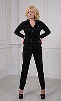 Черный женский брючный костюм Кэтрин
