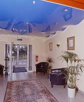 Натяжной потолок (Лак 130 см белый/цветной)