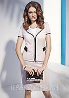 Женский жакет с коротким рукавом и застежкой молнией. Модель NZ12 Sunwear.