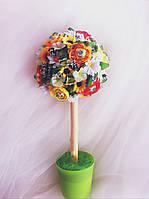 Подарочный букет из конфет ручной работы  Дерево Счастья