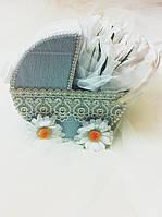 Подарочный букет из конфет ручной работы Сладкая Колясочка