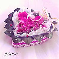 Подарочный букет из конфет ручной работы Сладкое Сердце