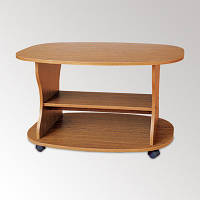 Журнальный столик Каприз на колесиках