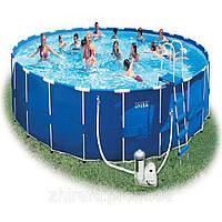 28262/54938) Каркасный бассейн Intex (732х132 см) + фильтр-насос