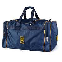 Дорожная сумка с украинской символикой, среднего размера