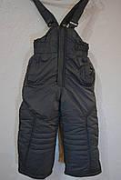 Зимние штаны-комбинезоны