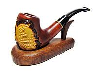 Курительная трубка из натурального дерева груши