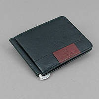 Купюрник зажим для денег на магните удостоверение черный Rocco Barocco 5183