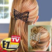 Чудо заколка для волос EZ Combs Изи Коум (Изи Хоум, Easy Comb) купить в Украине