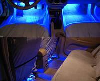 Диодная подсветка салона (синяя)