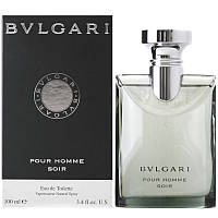 Bvlgari  Soir pour homme edt 100ml. Туалетная вода Оригинал