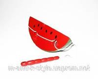 Объемная Шнуровка Арбуз, развивающая детская игрушка, ДЕРЕВО!