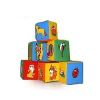 Детские кубики поролоновые с картинками (KubikJM)