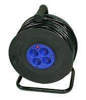 Удлинитель 220V 10м на катушке LogicPower (2*1.5mm медь)