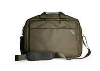 """Сумка для ноутбука 15,6"""" LogicFox LF-8820R нейлон, темно-коричневый, плечевой ремень"""